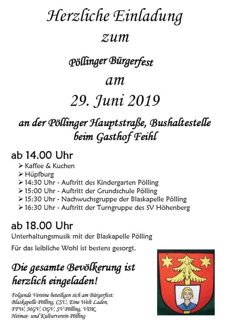 Pöllinger Bürgerfest